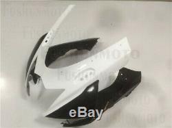 White Black Injection Mold Plastic Fairing Fit for 2011-2018 Suzuki GSXR 600 750
