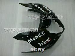 White Black Injection Mold Plastic Fairing Fit for Suzuki GSXR 1000 2003-2004 K3