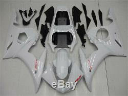 White Fairing Fit for YAMAHA 2003-2005 YZF R6 Injection Mold Plastic Body Kit 03