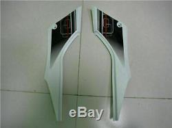 White Injection Mold Fairing Fit for Kawasaki 2013-2016 EX300 Plastics Kit v012