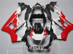 White Red Black Fairing Fit for Honda 2000-2001 CBR929RR Plastics Injection Mold