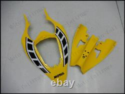 Yellow Black Injection Mold Fairing Fit for Yamaha 2004-2006 YZF R1 ABS Plastics
